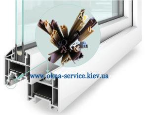 Замена уплотнителя пластиковых окнах своими руками